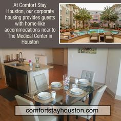 Furnished Apartments, Family Vacations, Medical Center, Houston, Kitchen, Home Decor, Cuisine, Family Friendly Holidays, Family Activity Holidays