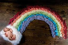 How One Mom's IVF Journey Led to a Stunning Photo of Her Double Rainbow Baby - Lesleigh Cetinguc saved over 500 vials, tubes, caps, and jars from her IVF treatments to create this breathtaking image. Baby L, Mom And Baby, Baby Newborn, Baby Pictures, Baby Photos, Ivf Pregnancy, Pregnancy Health, Rainbow Baby Announcement, Miracle Baby