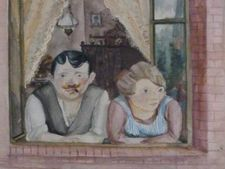 """This is an increasingly tangled tale, and it is not likely to be unraveled anytime soon. 1,400 paintings were seized by authorities from Cornelius Gurlitt in Germany. Gurlitt's father, Hildebrand Gurlitt, was an art dealer who oversaw the confiscation of what the Nazis called """"degenerate art"""" in the 1930s and 1940s, mostly from Jewish collectors. 79-year-old Cornelius Gurlitt of Munich had the paintings, which are valued at more than $1 billion, in his possession. -"""