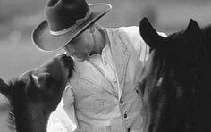 Buck Brannaman ~ horse whisperer.