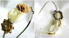 Inspirations by D: DIY Fabric Flower Hair Pin