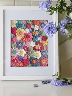 Robyn Hicks Wall Hanging Informations About Meet Designers Natashia Curtin and Robyn Hicks - Cosy Bl Blog Crochet, Crochet Wall Art, Crochet Wall Hangings, Crochet Crafts, Crochet Projects, Knit Crochet, Crochet Motifs, Crochet Flower Patterns, Crochet Flowers