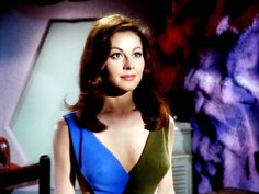 The beautiful Sherry Jackson gave one of her most memorable performances as android 'Andrea' in the episode 'What are Little Girls Made Of?'.