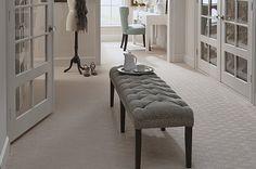 Karastan carpet in walkin closet. Karastan carpet in walkin closet. Teal Carpet, Patterned Carpet, Carpet Colors, Orange Carpet, Textured Carpet, Dark Carpet, Patterned Wall, Natural Carpet, Bedroom Carpet