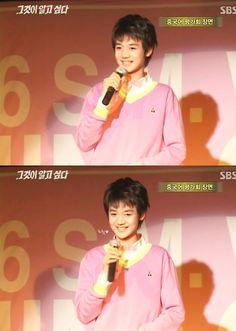 Minho(SHINee) he looks so young here