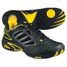 Wilson Tour Vision Men's Tennis Shoe - Black/Gold Wilson. $69.95