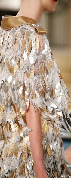 Chanel Couture Fall 2015 - Fabulous Fashion Details.<3