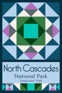 North Cascades National Park Quilt Block