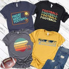 Disclosure: Affiliate links are used in this post. Any purchase you make using these links supports this site. Cheer Shirts, Sports Shirts, Vinyl Shirts, Custom Shirts, Football Spirit, Football Season, Football Quotes, School Spirit Shirts, School Spirit Wear