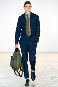 Harrington Jacket | Hardy Amies Spring 2016 Menswear - Collection - Gallery - Style.com