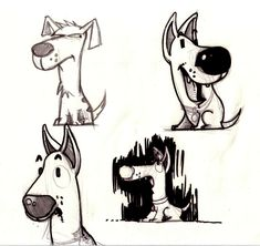 Dogs sketches 1
