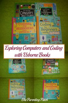 Computer and coding skills are essential for success in the Information Age. I was thus super excited to receive Look Inside How Computers Work, Lift-the-Flap Computers and Coding, Coding for Beginners Using Scratch, and Coding for Beginners Using Python from Usborne Books to add to my home library. All four books teach various computer skills to younger readers. If you want your children to learn more about computers and coding, I highly recommend all four books from Usborne Books.