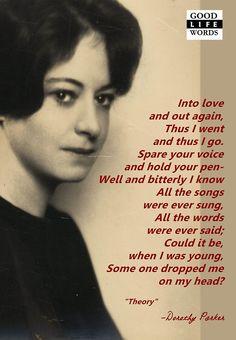 Dorothy Parker Algonquin Round Table | dorothy parker poet poem algonquin round table goodlifewords