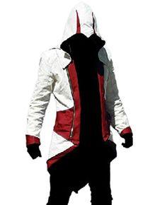 TEENTAGE Assassin's Creed 3 Connor Kenway Hoodie Jacket, ...