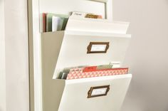 Use the File Tab edgelits to create your own custom file folders out of our gorgeous designer series paper.