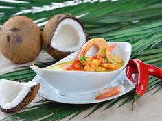 Sublime colombo de poisson et crevettes : Recette de Sublime colombo de poisson et crevettes - Marmiton