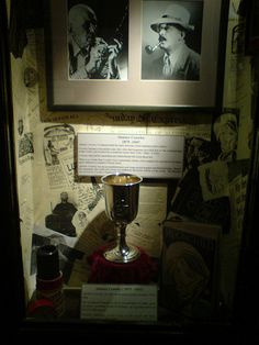 Aleister Crowley's Chalice by majorarcana, Museum of Witchcraft at Boscastle, England