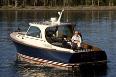 The classic and much loved Picnic Boat by Hinckley Yachts