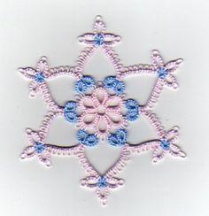 Daisy Picot Snowflake - Tatting Pattern