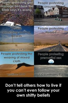 Christian hypocrisy