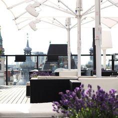 Rooftop Bar auf dem Hotel Lamée mit dem besten Ausblick auf Wien | creme wien