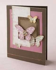 pretty handmade card