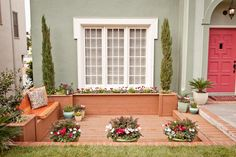From Homely to Head-Turning: Front-Yard Makeovers | Curb Appeal | HGTV - closer look at window trim