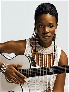 India Arie. Love her. Such a beautiful spirit through her music