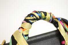 DIY Scarf-Covered Purse Strap