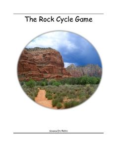This is a card game using original photographs of rock types.  Players use a rock cycle sheet as a reference during the game.  The object of the ga...