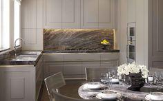 Bath room cabinets cream interior design 32 ideas for 2019 Kitchen Dinning, New Kitchen, Kitchen Decor, Home Design, Interior Design Kitchen, Luxury Kitchens, Home Kitchens, Window Seat Kitchen, Kitchen Island With Seating