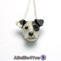 Jack Russell Terrier hond hanger/ketting. (Kan worden aangepast met uw honden aftekeningen) Gemaakt van 925 zilver, komt met zilver snake ketting door TyraJaneJewellery op Etsy https://www.etsy.com/nl/listing/265263967/jack-russell-terrier-hond-hangerketting