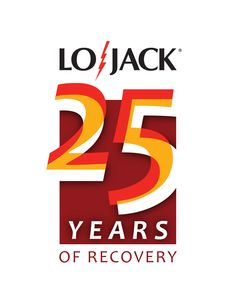LoJack 25th Anniversary Logo. This design was not chosen by the client, but I still really like it.