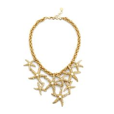 Scattered Starfish Necklace from C. Wonder on Catalog Spree