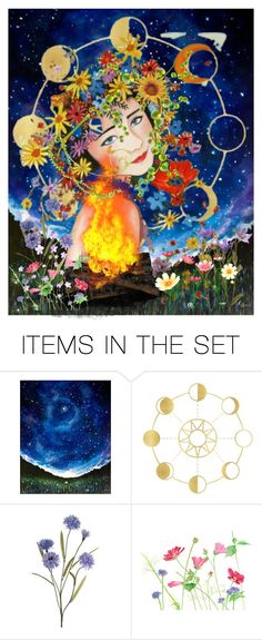 """""""Happy Beltane"""" by synkopika ❤ liked on Polyvore featuring art"""