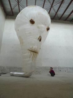 František Skála ml. Vase, Sculpture, Cool Stuff, Abstract, Artwork, Crafts, Dragons, Concrete, Surface
