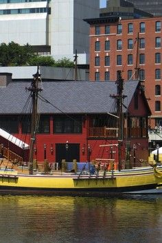 The Boston Tea Party Ship and Museum.