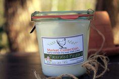 Natural Soy Candle  Modern Farm House  Weck Jar Candle  by LLFarm