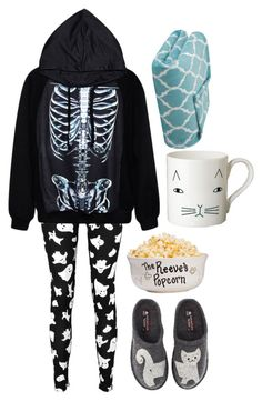 """""""Emma"""" by ashleeramme ❤ liked on Polyvore featuring Boohoo, Haflinger, Donna Wilson and Madison Park"""