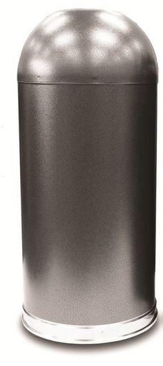 45 best dome top receptacles images chrome kitchen trash cans rh pinterest com