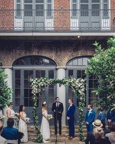 Courtyard Wedding, Wedding Planning, Image, Patio Wedding