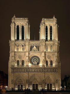 Notre-Dame-de-Paris, France paris, de pari, church, dame cathedr, notr dame, france, gothic architecture, place, dame de