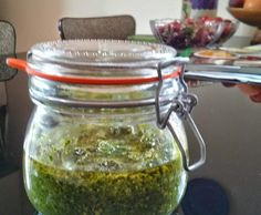 Recipe carrot top pesto by zetycael - Recipe of category Sauces, dips & spreads