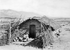 The real(?) Ramona at her cabin near San Jacinto, after 1886 :: California Historical Society Collection, California History, University Of Southern California, Vintage California, Usc Library, San Luis Obispo County, San Jacinto, Historical Society, Palm Springs, Digital Image
