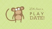 16 best play date invites images kid stuff calling cards invites