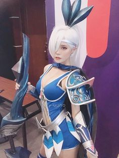 Anime Cosplay Costumes, Cute Cosplay, Best Cosplay, Mobile Wallpaper Android, Mobile Legend Wallpaper, Miya Mobile Legends, Alucard Mobile Legends, Moba Legends, Anime Girl Crying