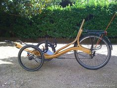 Eamespunk Recumbent Trike | The Steampunk Workshop