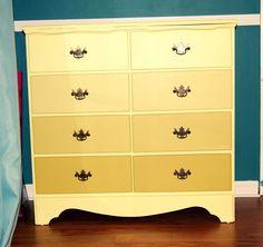 Obmre painted dresser diy