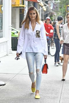 Olivia Palermo Out And About In New York - August 19, 2016