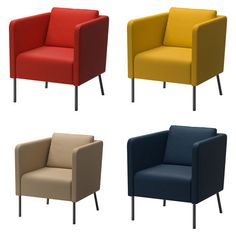 ikea EKERO Armchair, Living Room Furniture 4 colors new